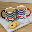 Personalised Stripe Mug