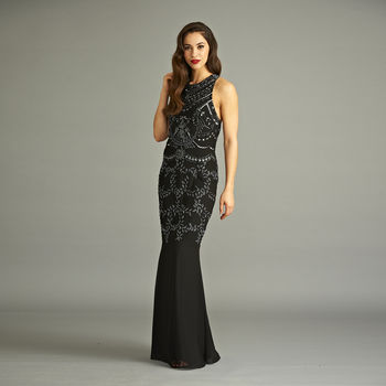 Barbara Sequin Maxi Dress