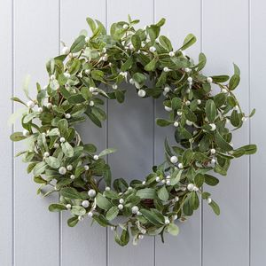 Mistletoe Christmas Wreath - wreaths