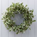 Mistletoe Christmas Wreath