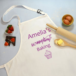 Apron Scrumptious Baking Personalised