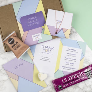Personalised 'Thank You' Letterbox Gift Box