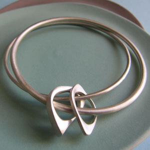 You And Me To Infinity Double Bangle
