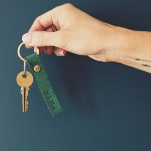 Starling Personalised Leather Keyrings In 16 Colours - best gifts for her