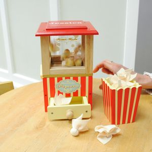 My First Wooden Popcorn Machine