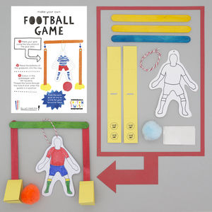 Make Your Own Football Game Kit - wedding day activities