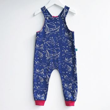 Constellation Organic Dungarees