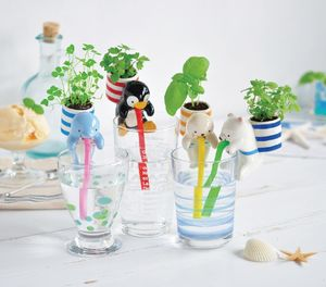 Self Watering Animal Plant Kit Seafriends - favourites
