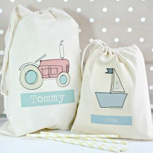 Boy's Personalised Party Bags Various Designs
