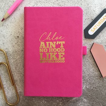 Personalised Motherhood Notebook