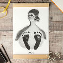 Personalised Baby Duck Footprint Kit