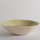 Wonki Ware Salad Bowl In Raised Lines