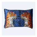 Silk Pillowcase 'Staring Leopard'