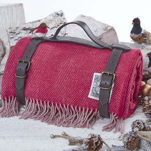Limited Edition Christmas Cranberry Picnic Rug - view all new