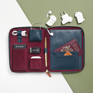 First Class International Travel Tech Case - gifts for him