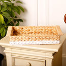 Hyacinth Dipped Decorative Tray