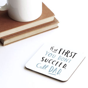 Call Dad Coaster - placemats & coasters