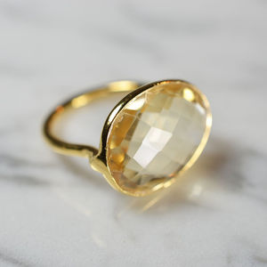 Flora Cocktail Ring