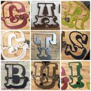 12 Inch Metal Carnival Fairground Coloured Letters A Z