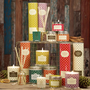 Superstars Candle In Tin - votives & tea light holders
