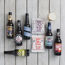Craft Beer And Savoury Treats Gift Idea