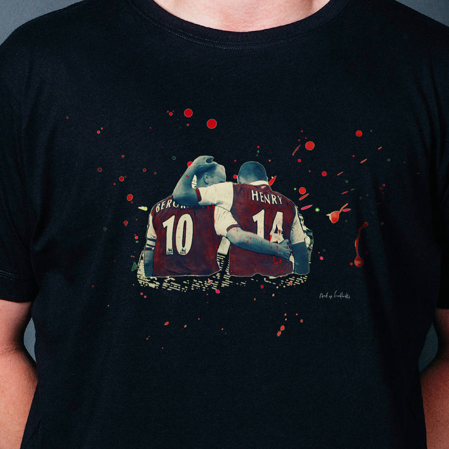 f075f3bee invincibles    arsenal t shirt by art of football ...