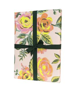 Summer Blooms Floral Gift Wrap Set Of Three - new lines added
