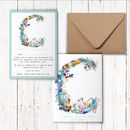 Pastel Wildlife Letter Thankyou Cards