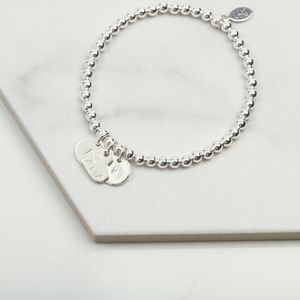 New Mum Personalised Charm Bracelet Gift