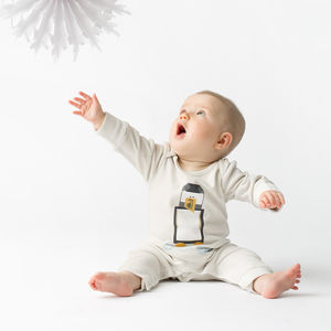 Penguin Organic Baby Grow - babygrows