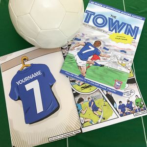 Personalised Ipswich Town Football Club Comic Book