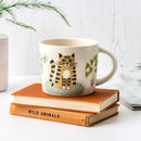 Handmade Ceramic Cat Mug