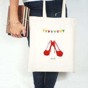 Personalised Mud And Glamour Tote Bag