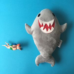 Biscuits The Shark Soft Toy - toys & games