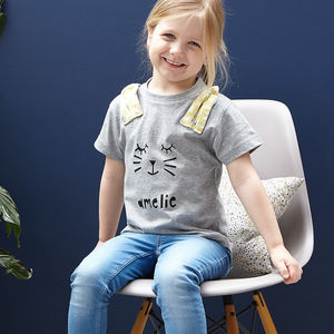 Personalised Rabbit Baby Childrens Easter T Shirt - personalised