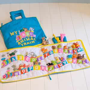 Alphabet Animal Train - baby & child sale