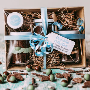 Chocolate Cake Jar Collection - gift sets