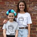 Frida Is My Muse Mum And Child T Shirt Set
