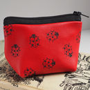 Small Ladybird Leather Coin Purse