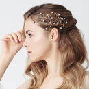 Star Constellation Swarovski Wedding Hairvine Lunella