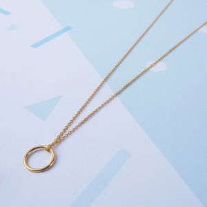 Orbis Necklace - the halo effect
