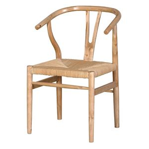 Antique Oak Wishbone Chair