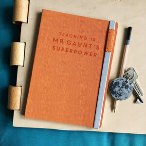 Teaching Is My Superpower Personalised Notebook