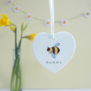 Mothers Day Bumble Bee Personalised Decoration