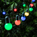 20 Multi Coloured Party Lights