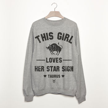 Taurus Women's Zodiac Star Sign Sweatshirt