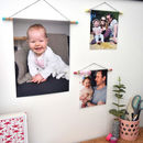 Personalised Photo Wall Hanging Print