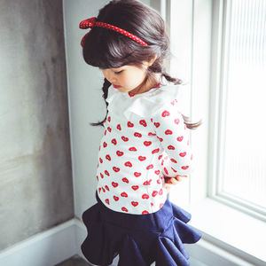 Valentine Blouse - gifts for the kids