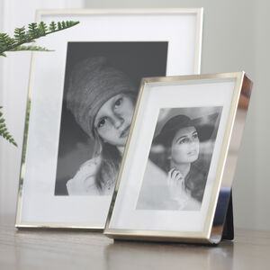 Fine Silver Box Photo Frame