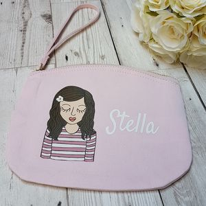 Personalised Childrens Wristlet Purse